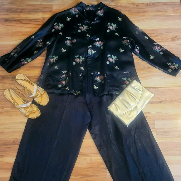 Vintage Asian Jacket and Matching Lounge Pants